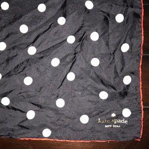 Kate space polka dot scarf